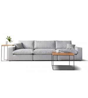 CUBE komfortowa sofa 3 osobowa. Szczególnie polecamy ją w materiałach plamoodpornych Linea.