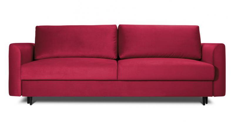 ALTO sofa 3 osobowa rozkładana w tkaninie hydrofobowej.