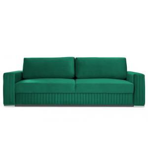 Komfortowa sofa GLAMOUR 3 osobowa z funkcją spania i pojemnikiem