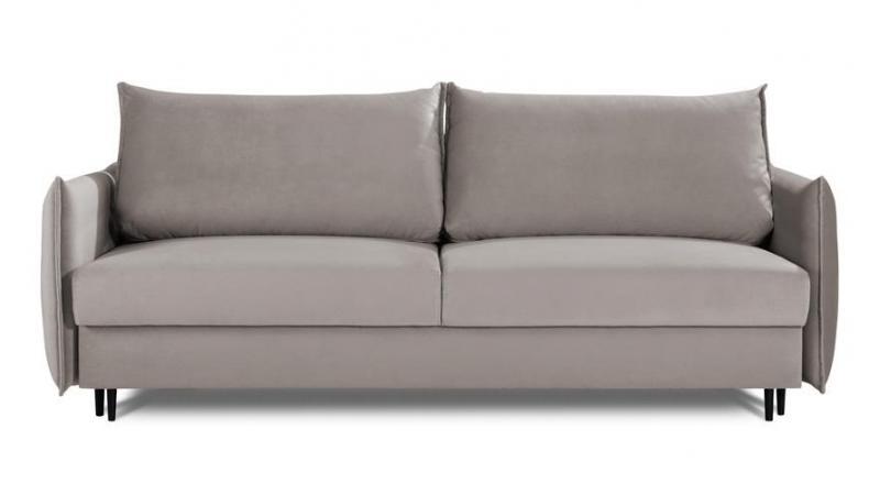 Sofa EGO 3 osobowa rozkładana w modnym szarym kolorze