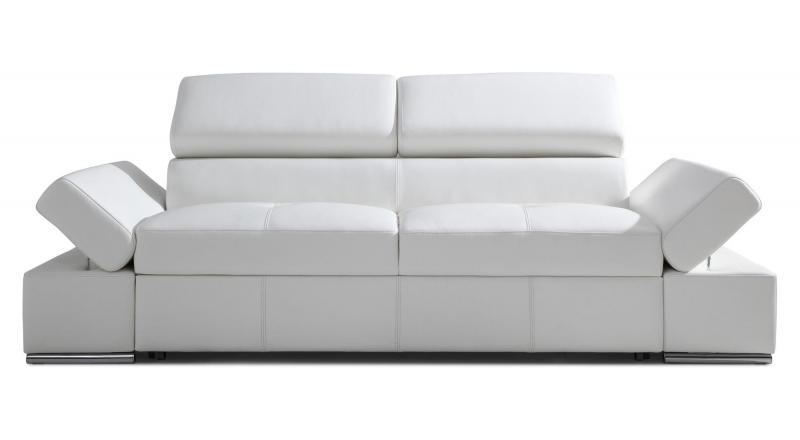 Sofa LORENZO 2,5 osobowa skórzana rozkładana