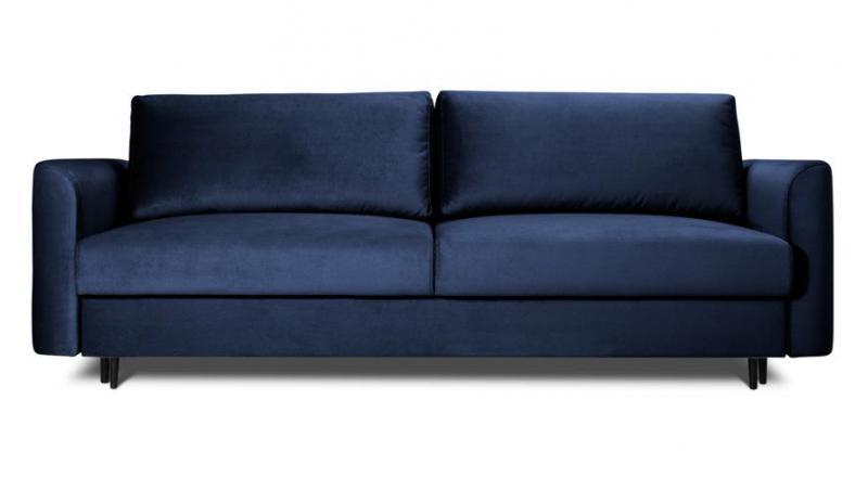 ALTO sofa 3 osobowa rozkładana w granatowym kolorze