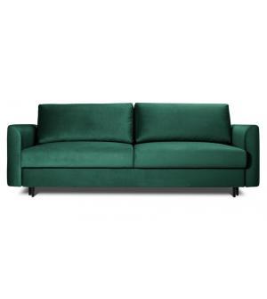 ALTO sofa 3 osobowa rozkładana w zielonym kolorze
