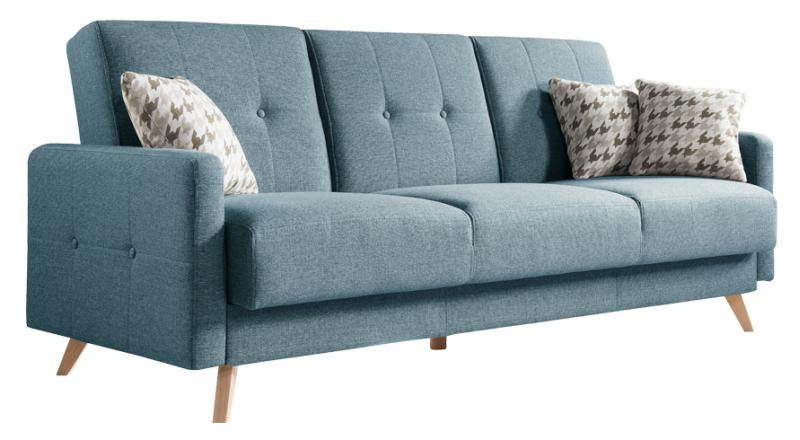 Sofa SCANDI 3 osobowa rozkładana