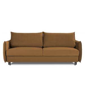 Sofa EGO 3 osobowa rozkładana w tkaninie Monolith 48