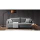 Sofa ALTO 3 osobowa rozkładana w szarym kolorze Fuego 170