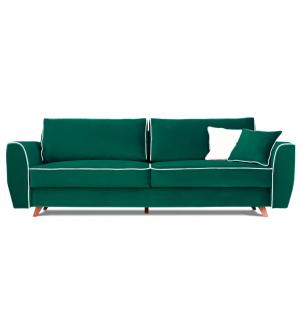 Sofa HUGO 3 osobowa rozkładana tk. Magic Velvet 2220