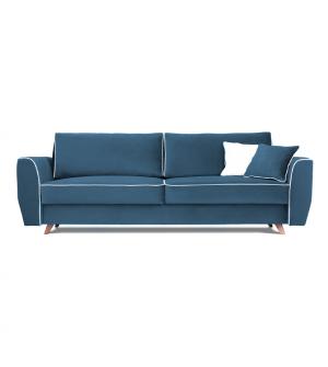 Sofa HUGO 3 osobowa rozkładana tk. MAGIC VELVET 2222