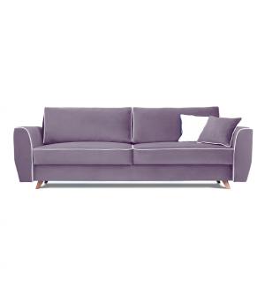 Sofa HUGO 3 osobowa rozkładana tk. MAGIC VELVET 2248