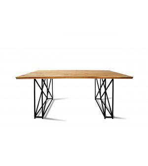 Stół DĘBOWY LOFT 1211 (140 cm x 90 cm x 75 cm)