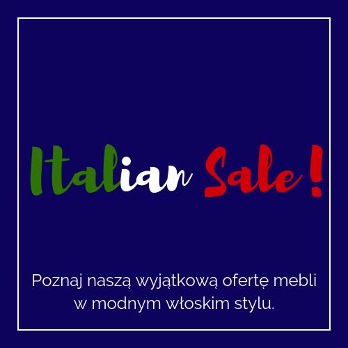 ITALIAN SALE!