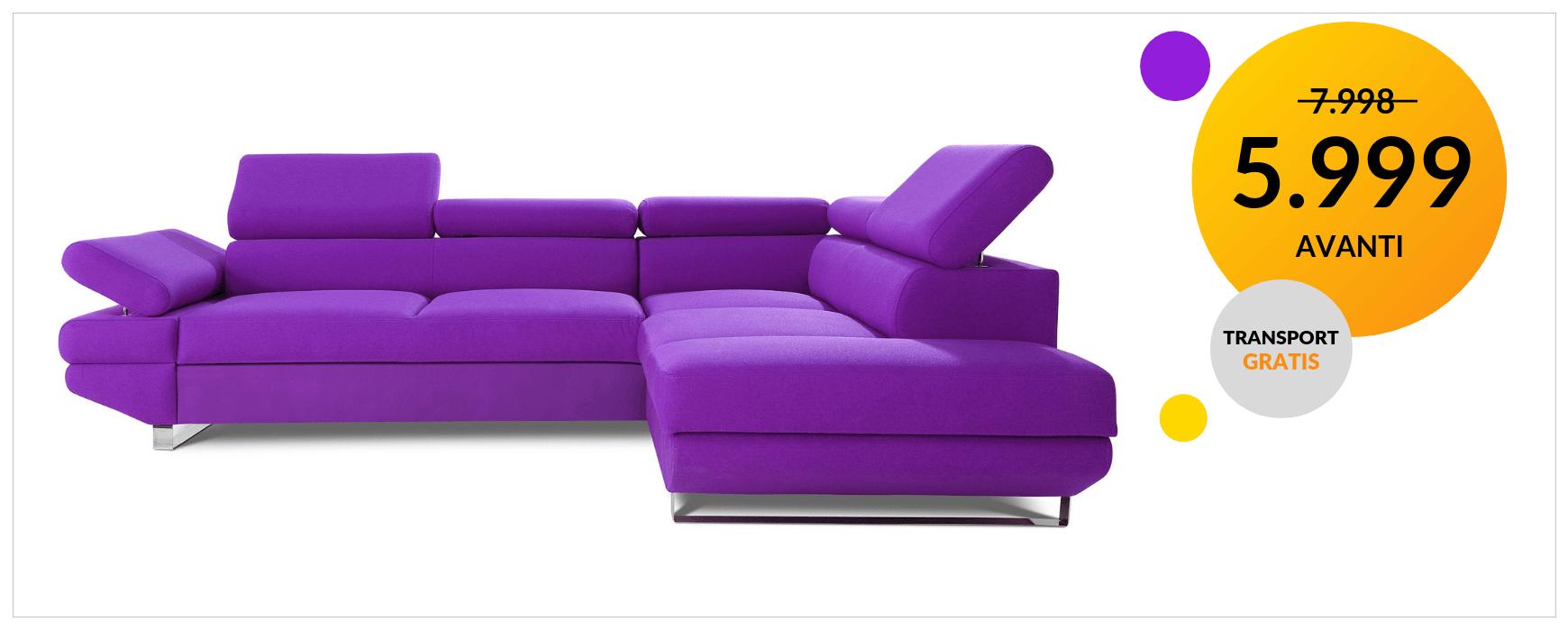 Poznaj AVANTI oraz inne wyjątkowe kolekcje komfortowych narożników marki CAYA DESIGN